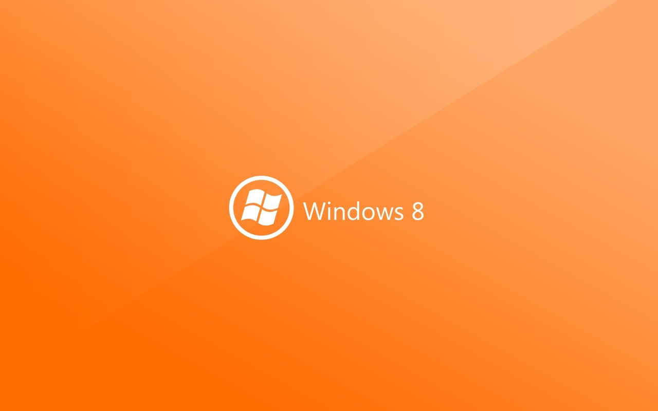 Windows 8 orange