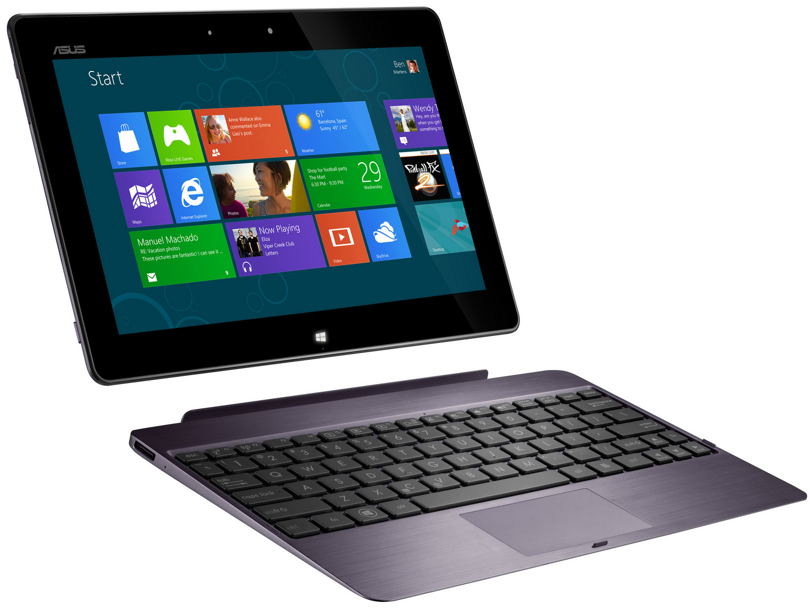 Computex 2012 | Windows-8-Tablets Asus 600 und Asus 810 im Detail