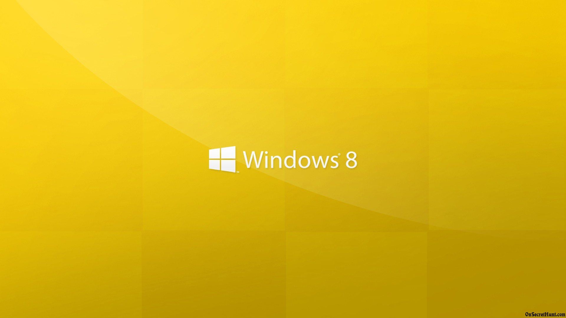Windows 8 yellow