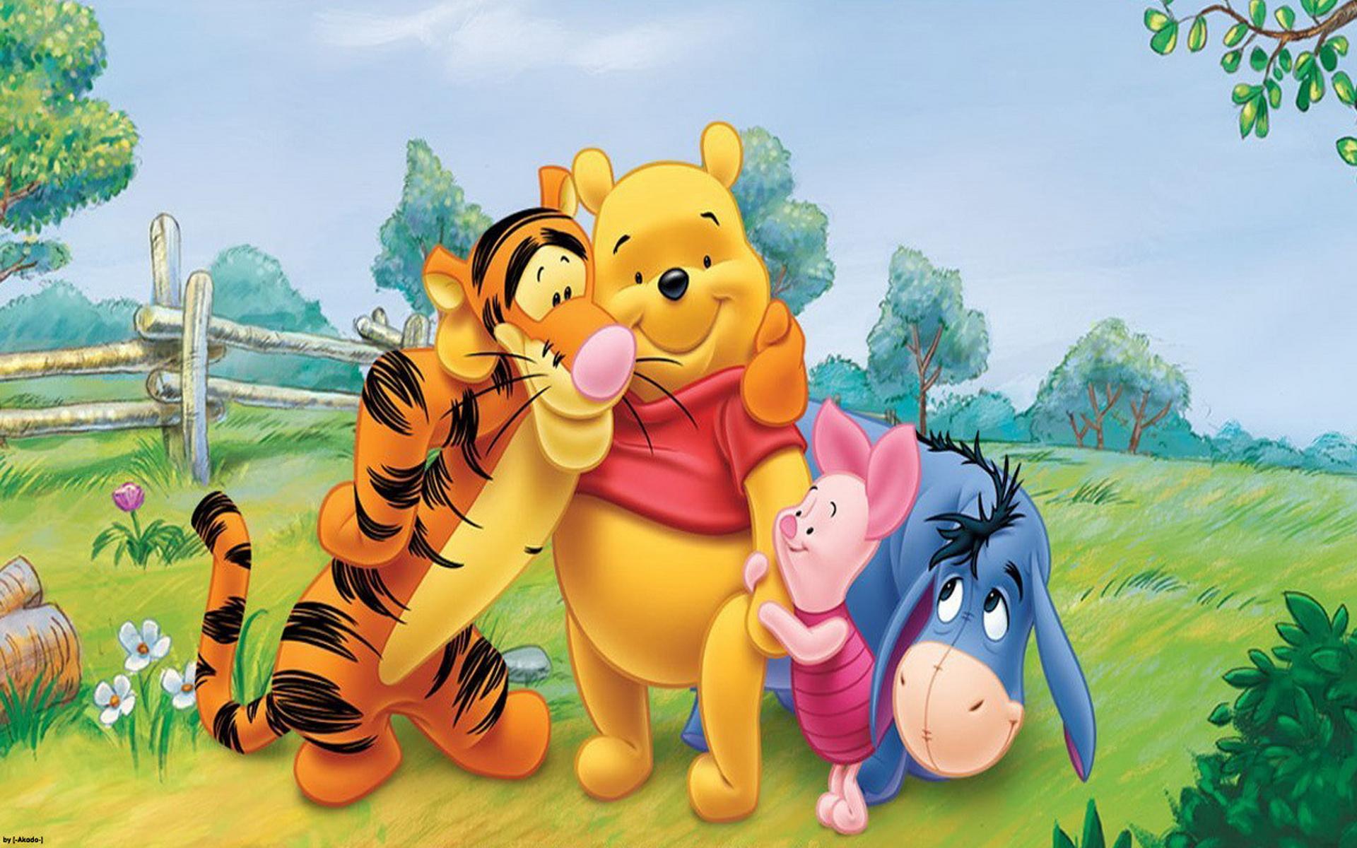 1920x1200 Cartoon Winnie The Pooh