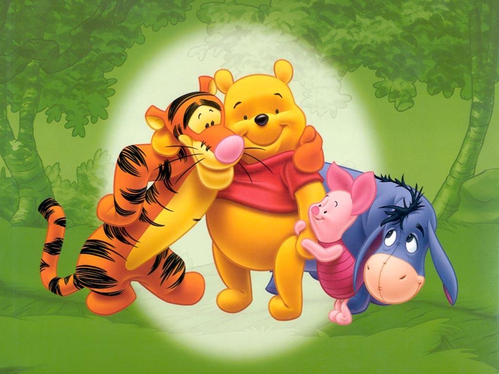 """Winnie the Pooh"" desktop wallpaper number 2 (1024 x 768 pixels)"