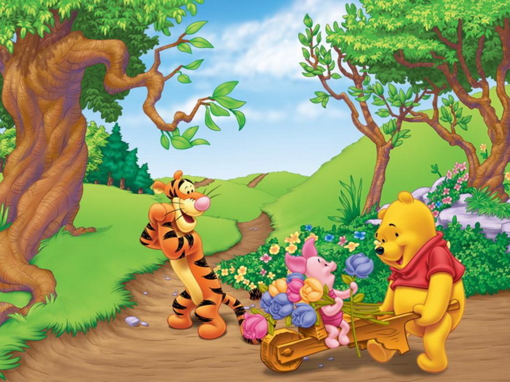 Winnie the Pooh Winnie-the-Pooh Wallpaper