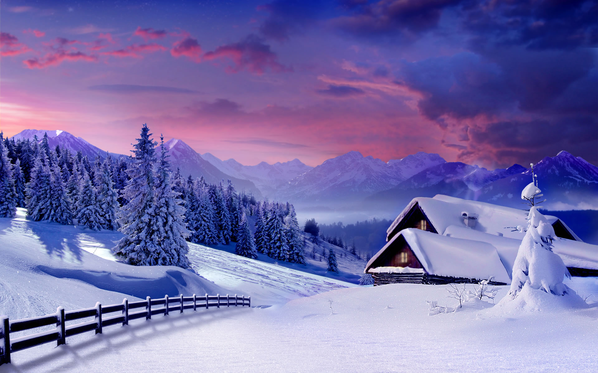 winter backgrounds 2