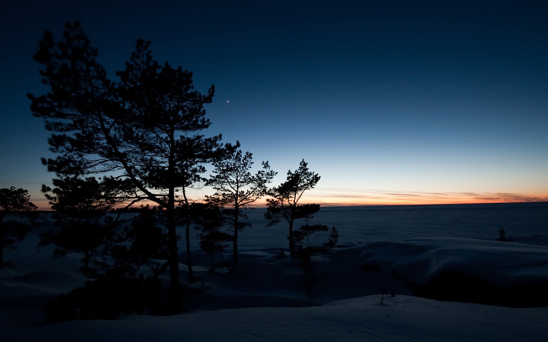 Winter Dusk by Smattila Winter Dusk by Smattila