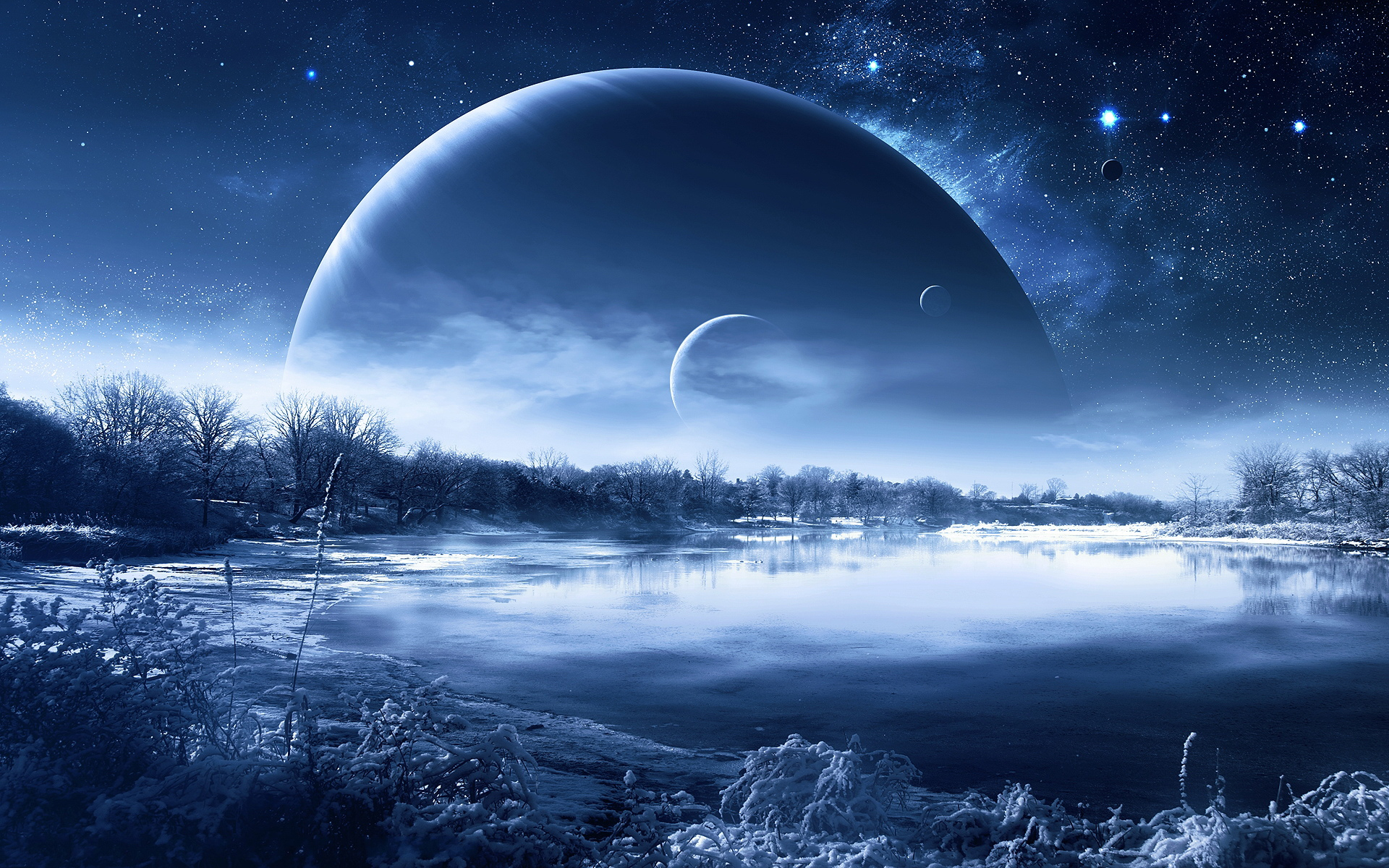 Winter Fantasy wallpaper | 1920x1200 | #22441