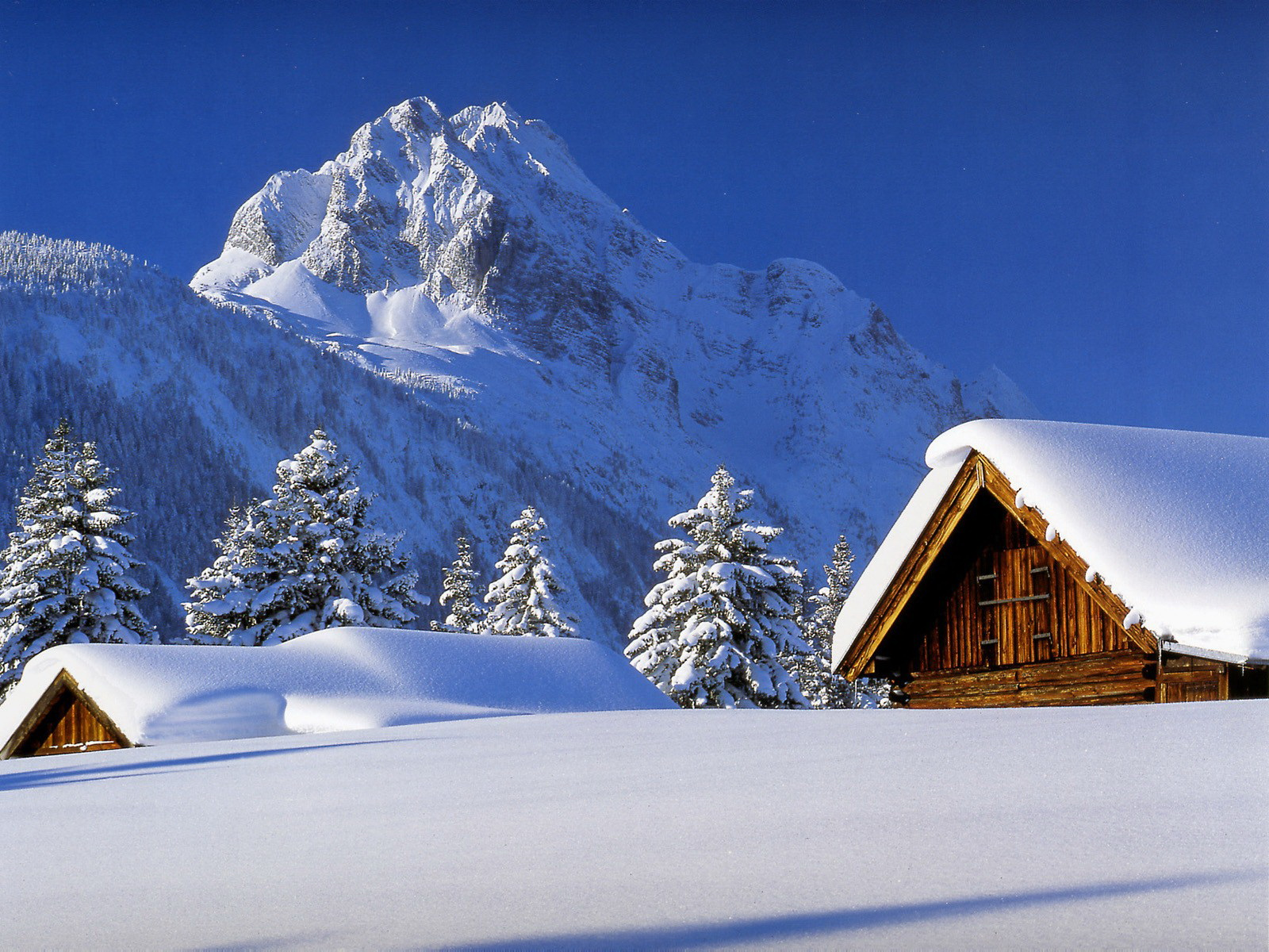 Nature Winter Mountain 20312 Hd Wallpapers