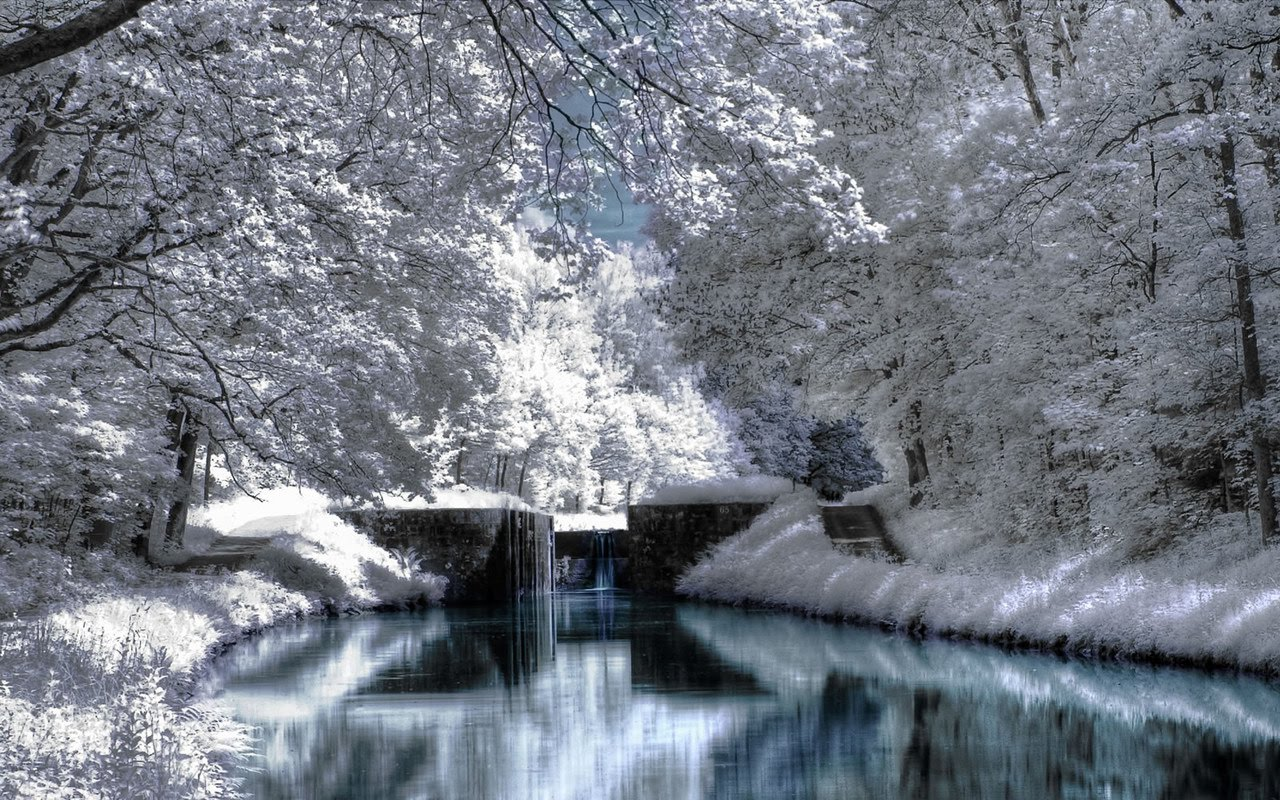 Beautiful Winter Scenery Hd Wallpapers