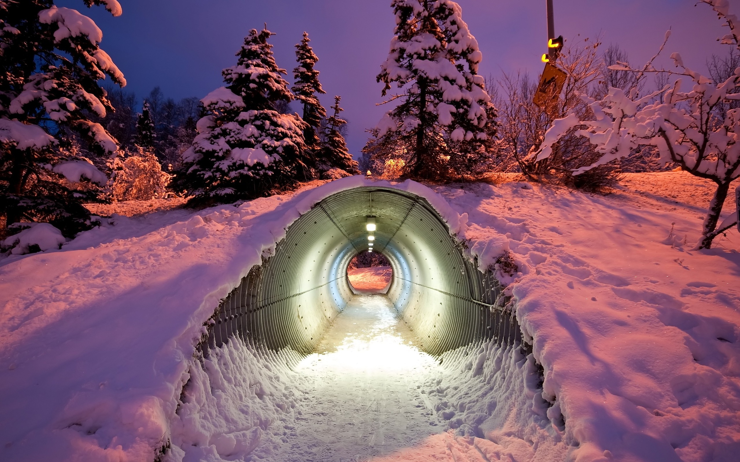 Winter Underpass