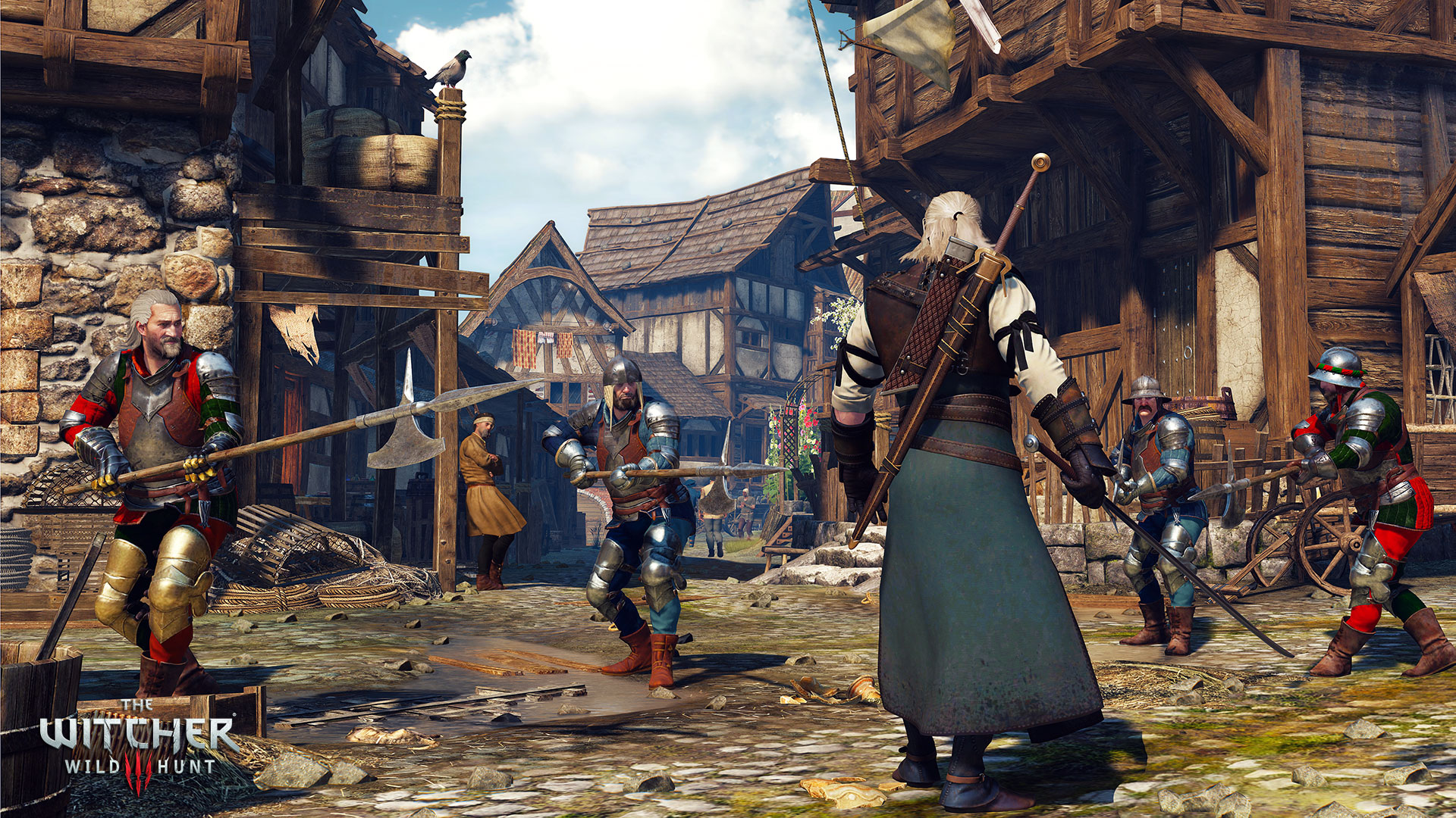 Witcher 3 wild hunt game