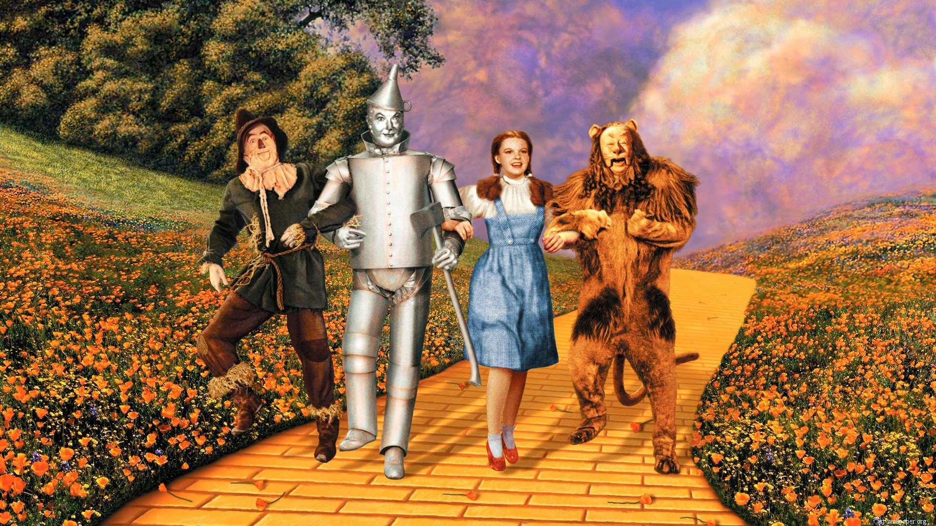 Wizard Of Oz Wallpaper