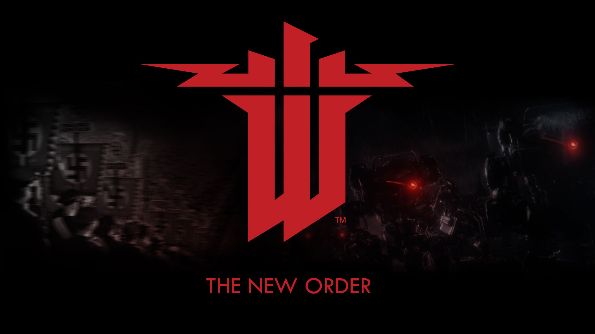 Wolfenstein The New Order Logo Wallpaper