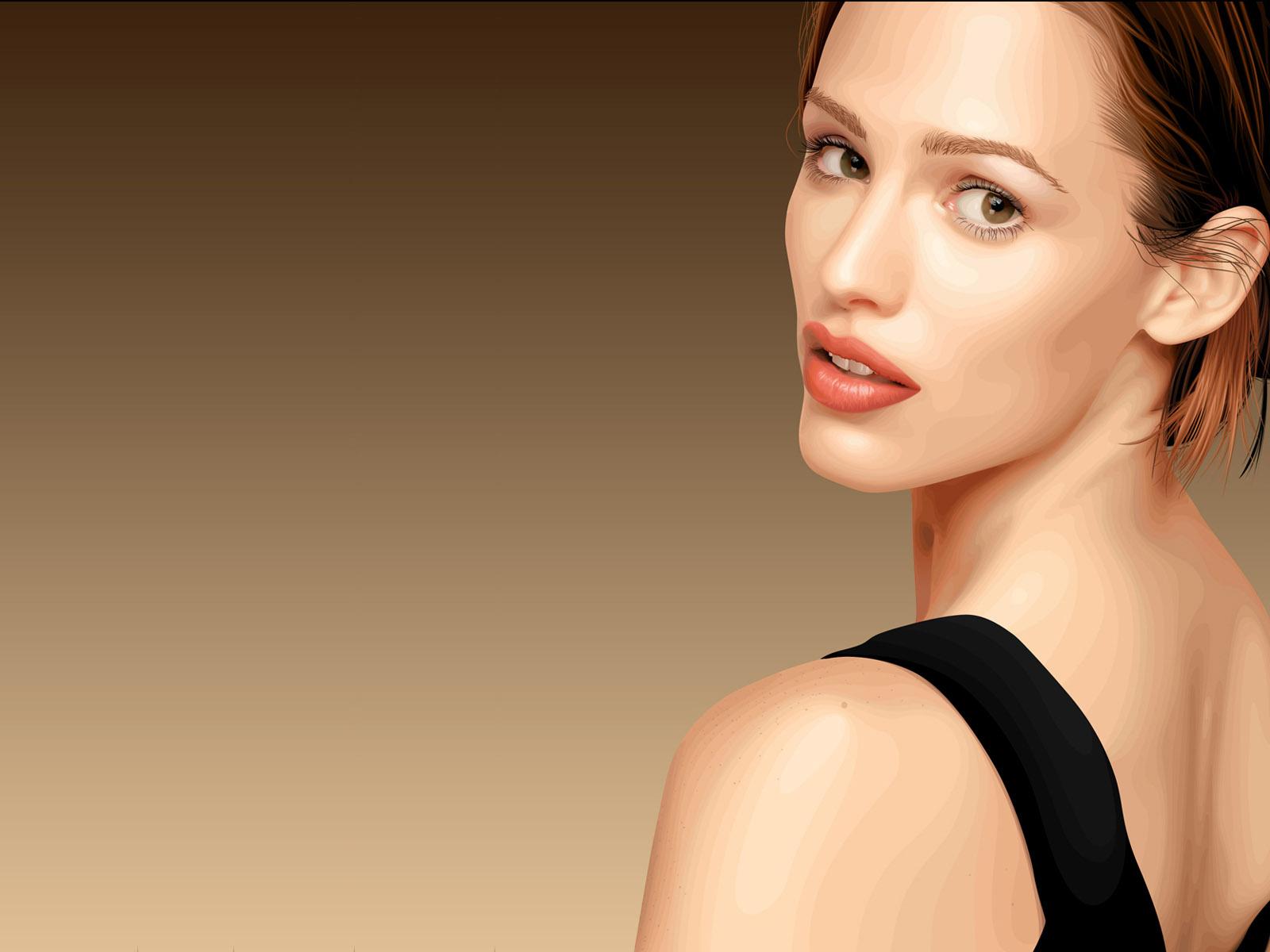 Fashion women wallpaper 21905