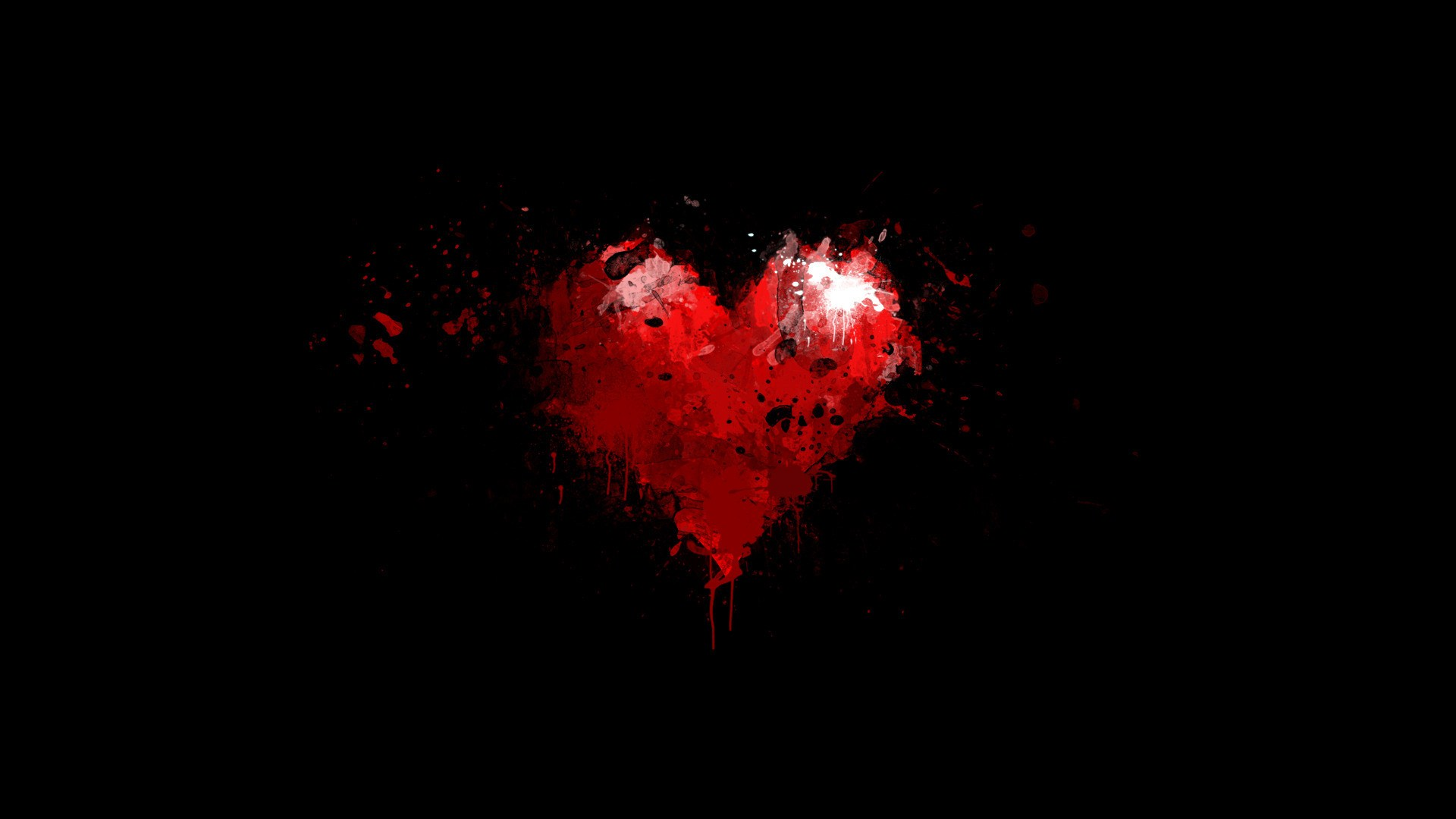 Minimalism Black Red Heart Paint Splash Drop Wonderful HD Wallpaper is a awesome hd photography. Free to upload, share the high definition photos.
