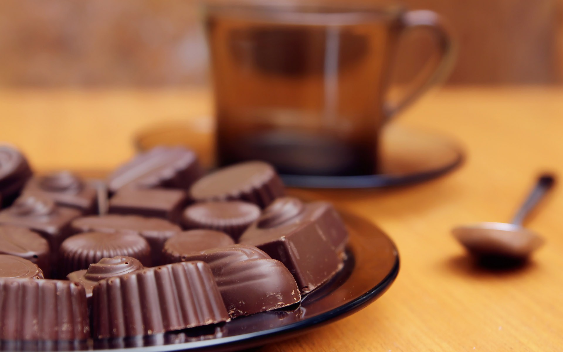 Wonderful Chocolate Candy Wallpaper