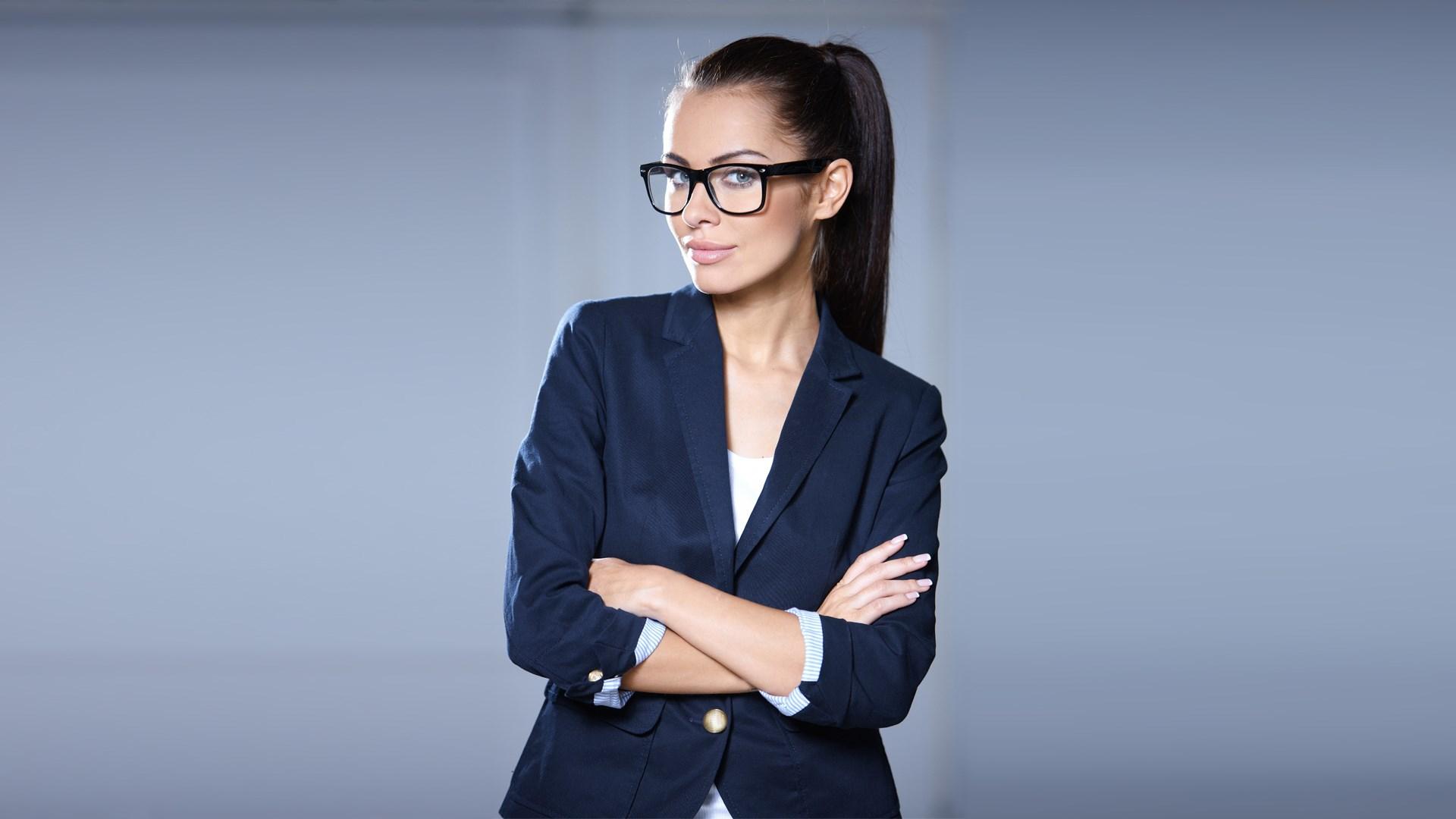 Wonderful Girl Glasses Wallpaper