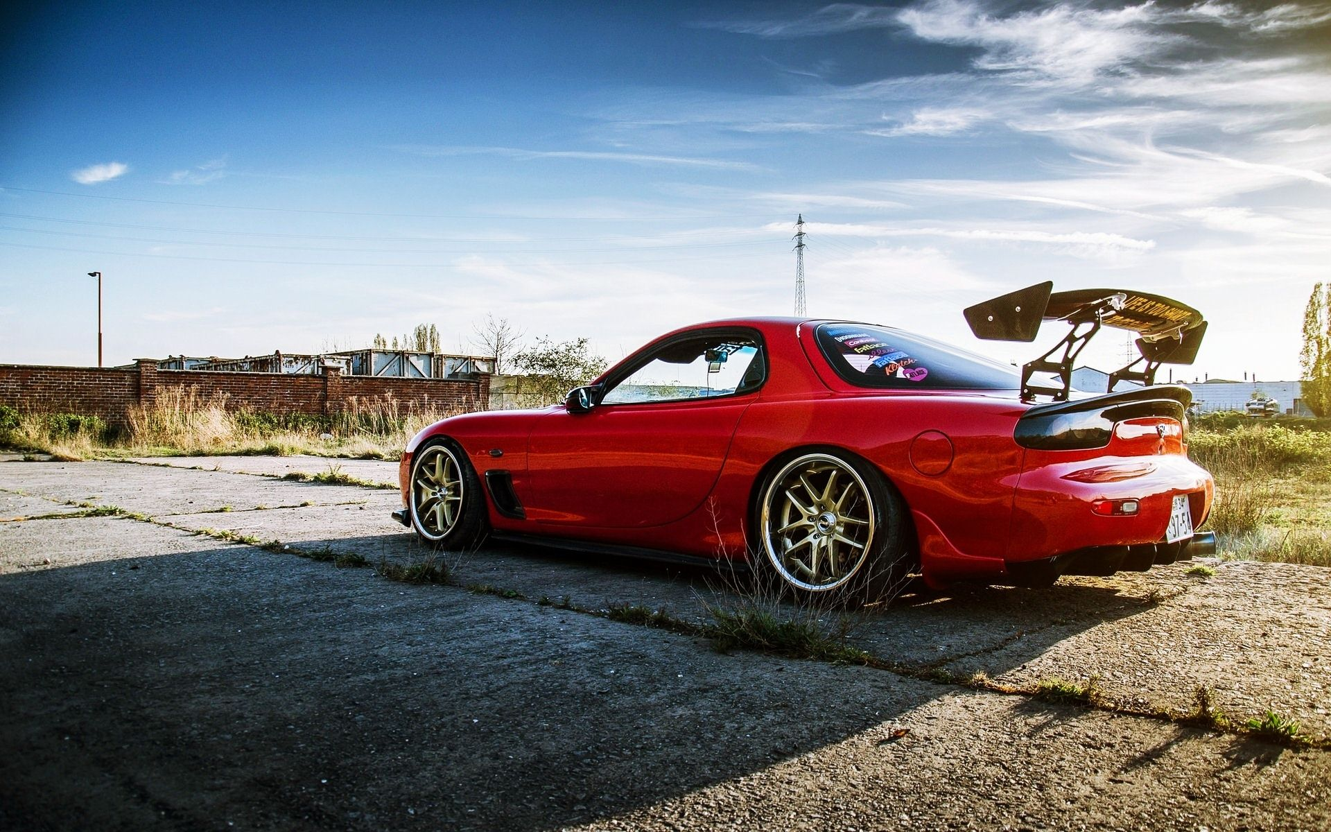 Wonderful Mazda rx7 Wallpaper