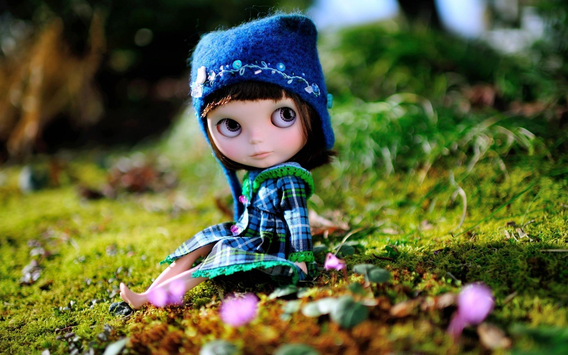 Wonderful Toy Doll Wallpaper
