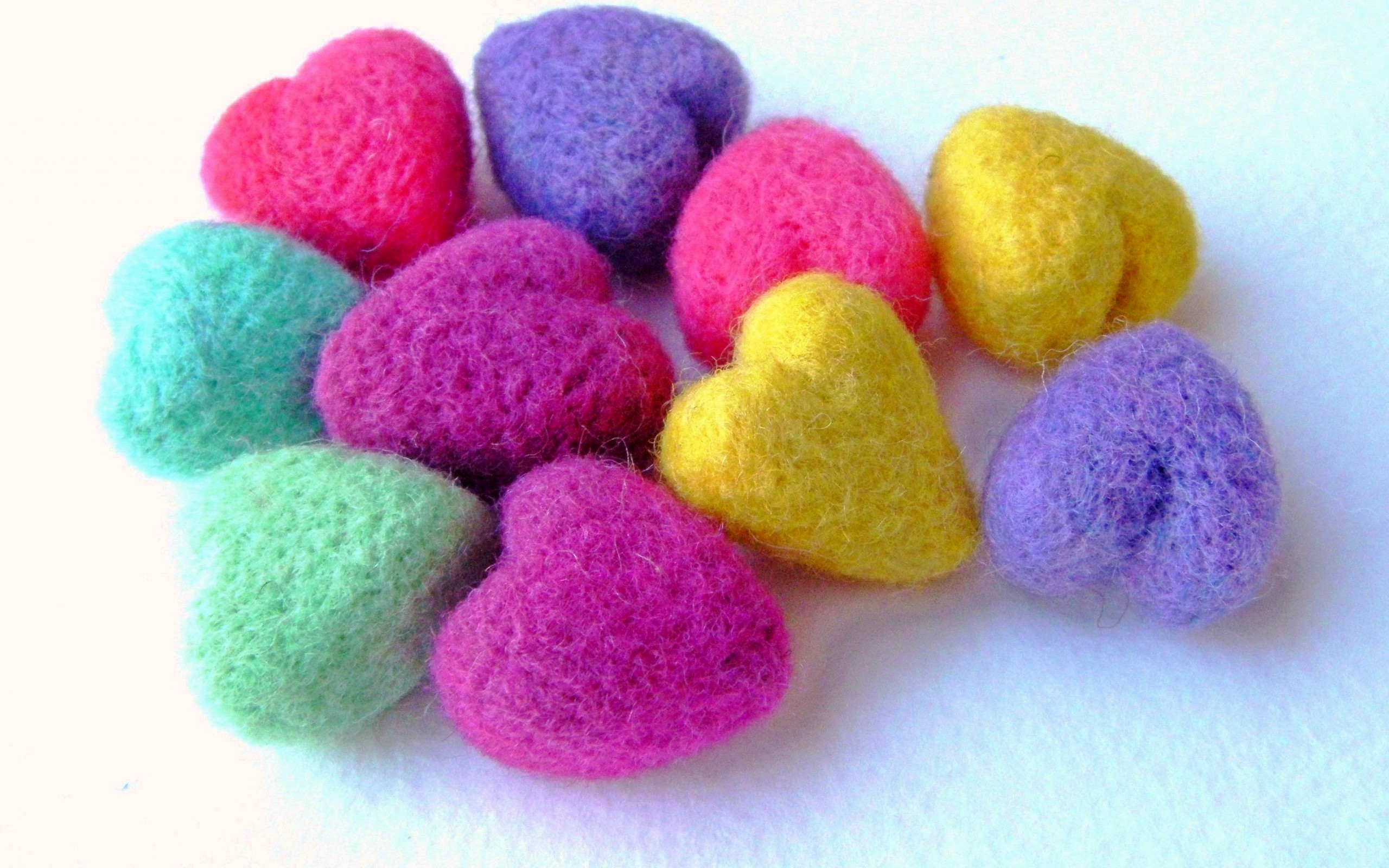 Wool heart