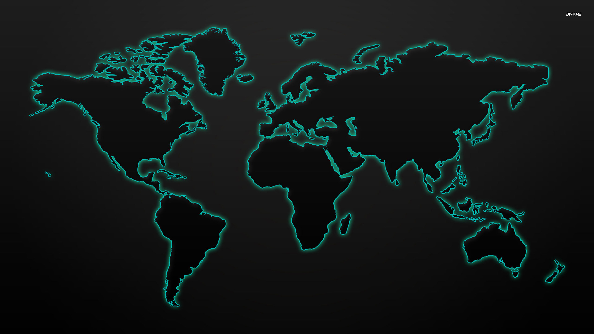 ... Glowing world map wallpaper 1920x1080 ...