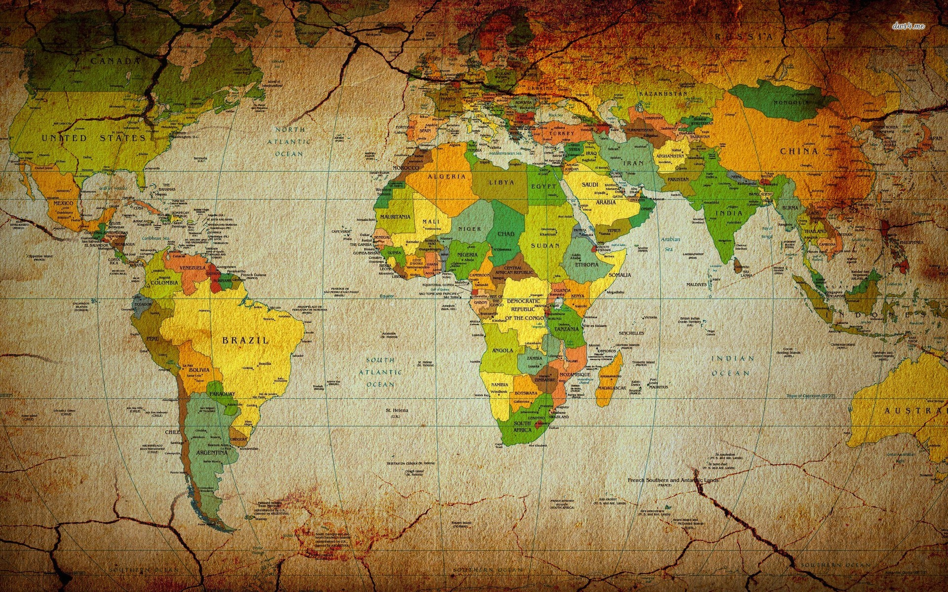 World map wallpaper 1920x1200 55911 World map wallpaper