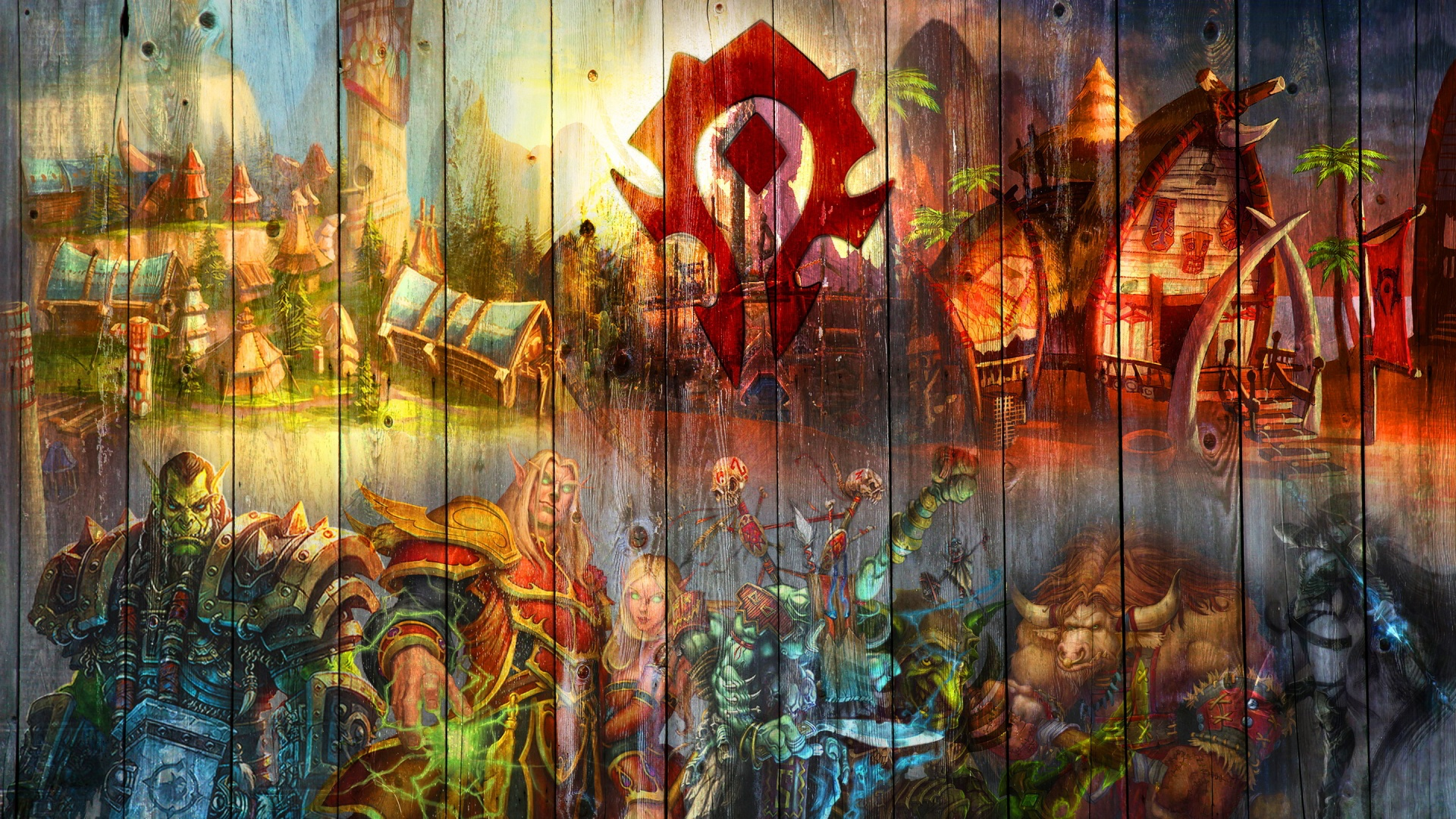 Wow horde art