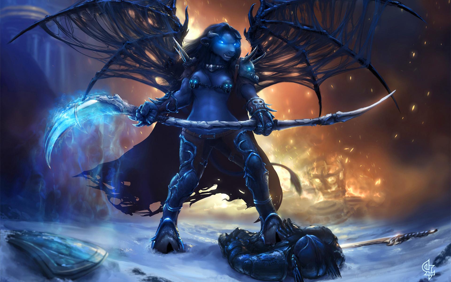 Wow tauren magic knight