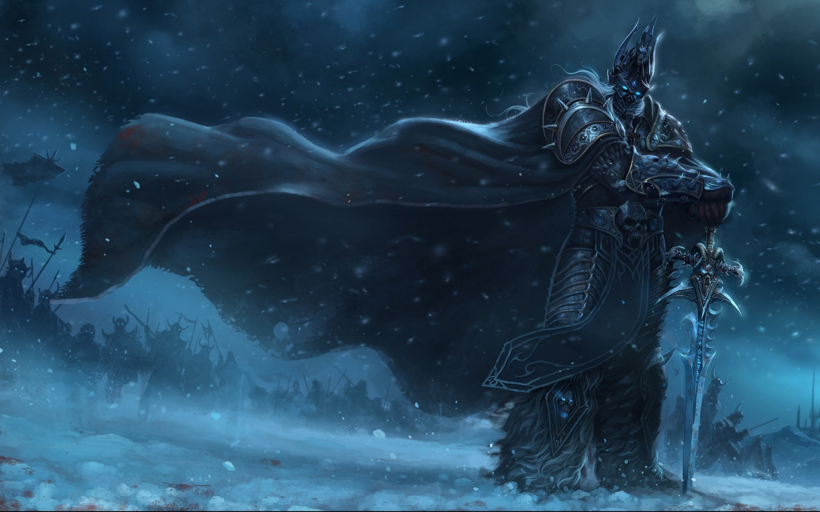 Description: The Wallpaper above is Lich king wow Wallpaper in Resolution 1680x1050. Choose your Resolution and Download Lich king wow Wallpaper