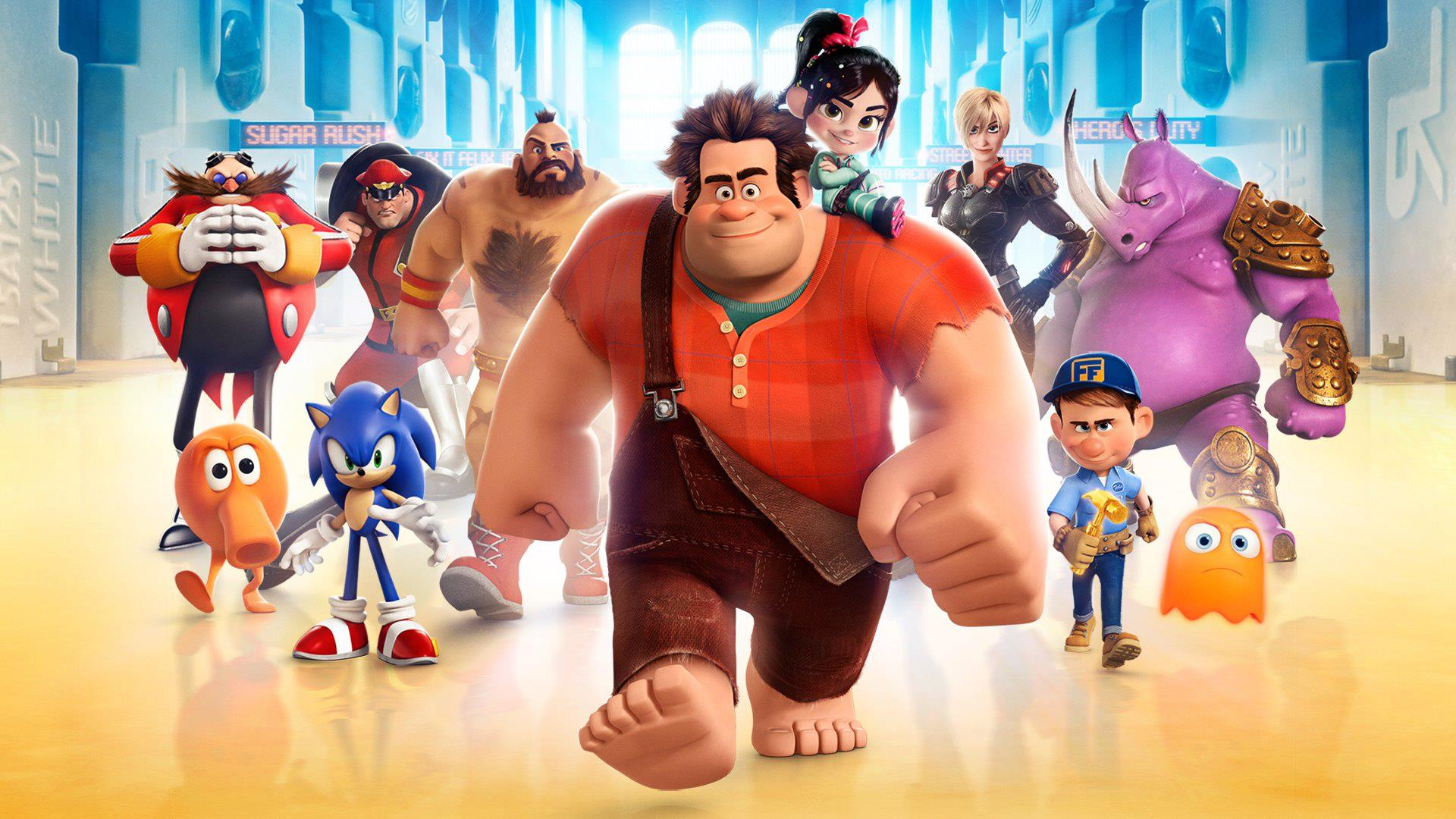 It is one of the most creative and visually complex films I've seen, filled with heart and humor. Tomorrow, Disney will release Wreck-It Ralph on Blu-ray, ...