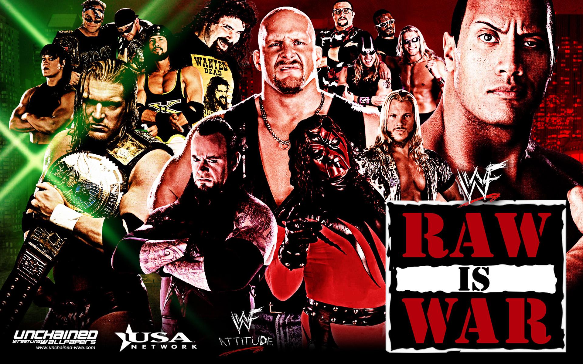 WWF Monday night Raw - wwe Wallpaper