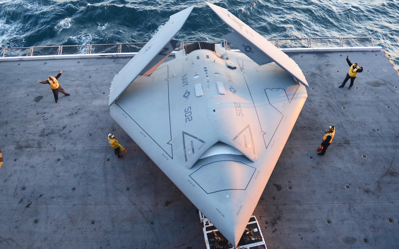 X47b stealth drone