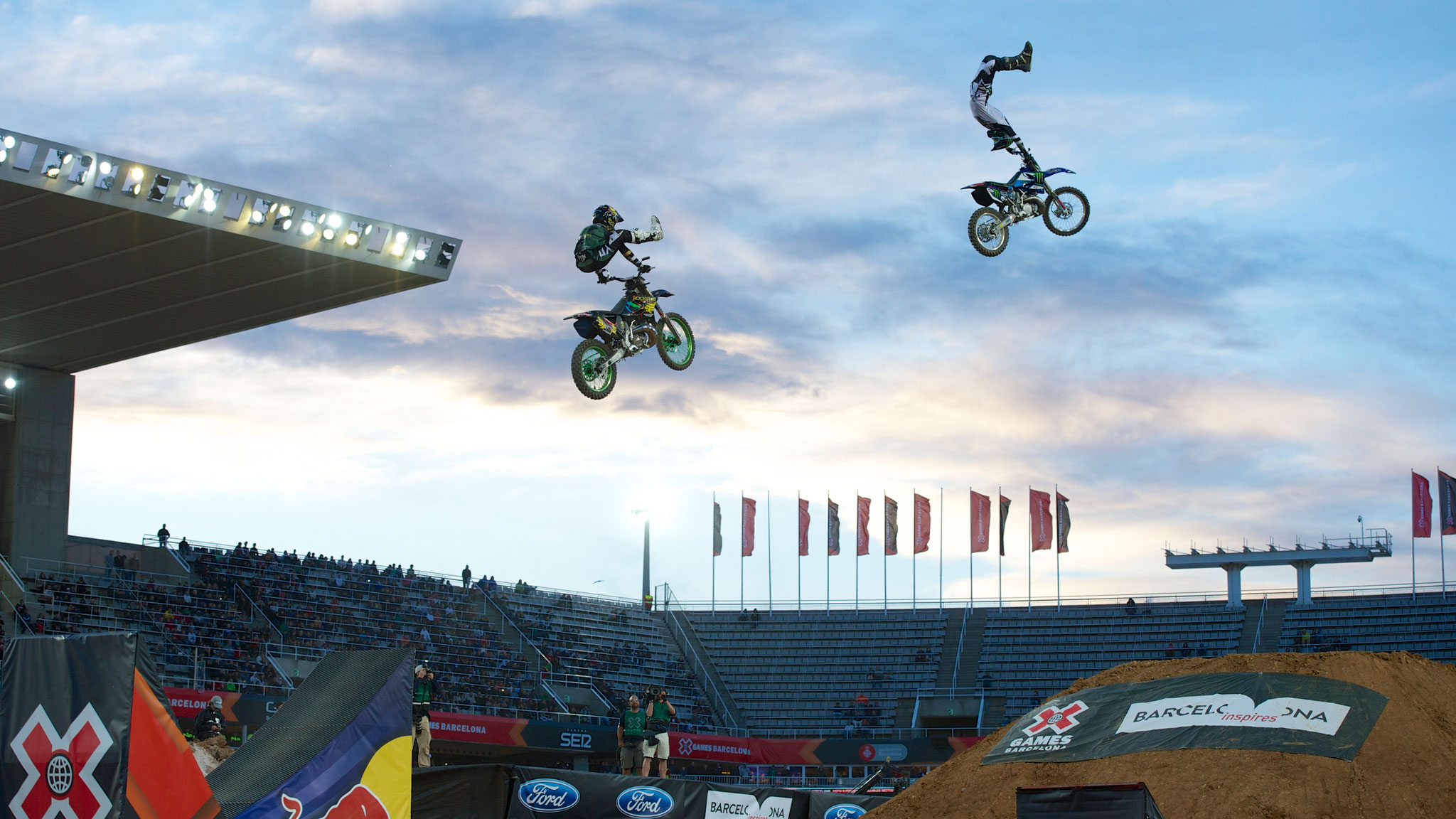 Adam Jones readies for Moto X Freestyle at X Games Munich