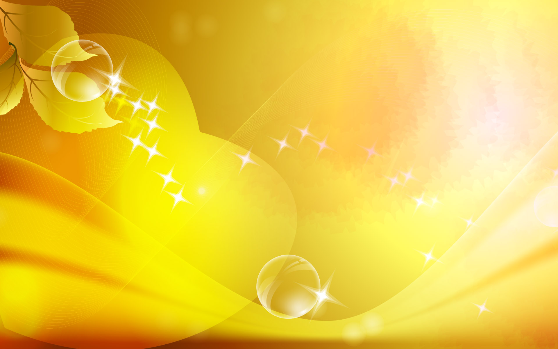 Yellow Abstract Background 18592