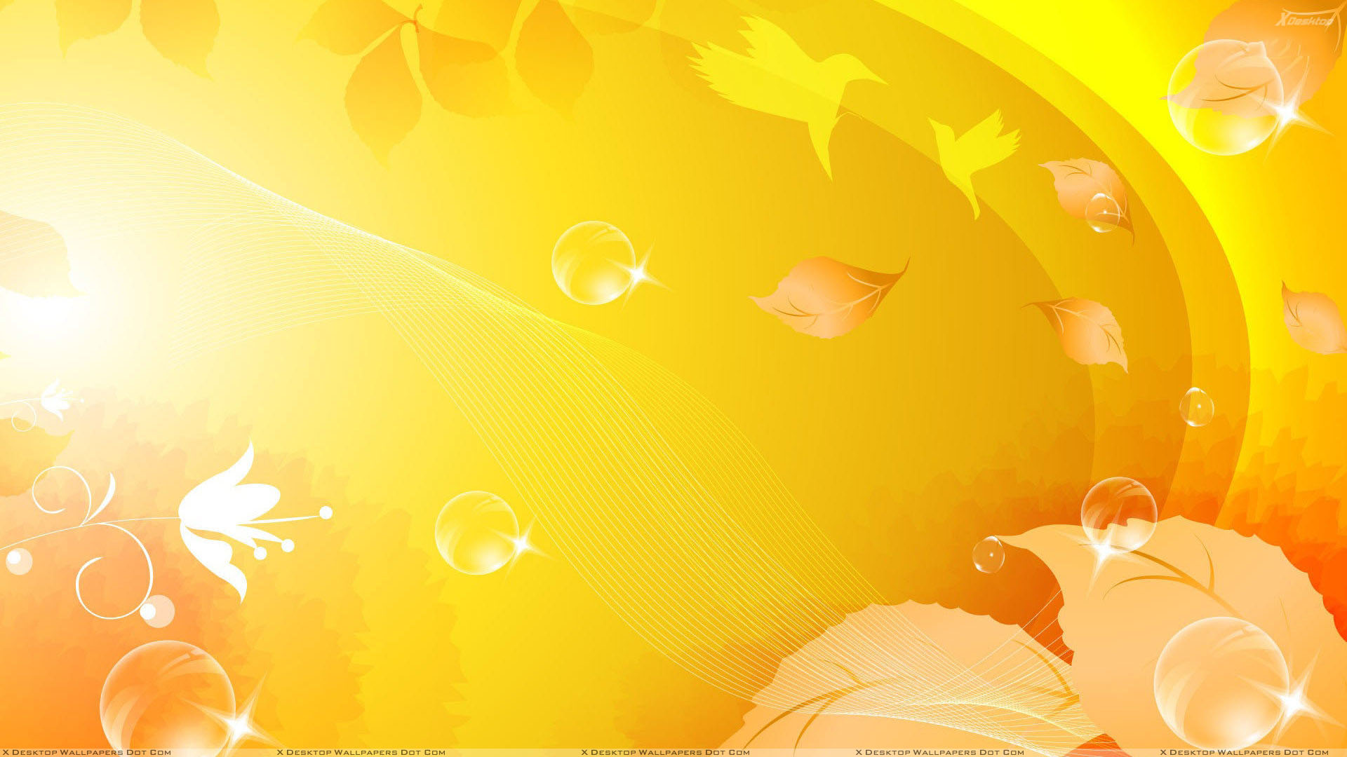 Yellow Background 5087