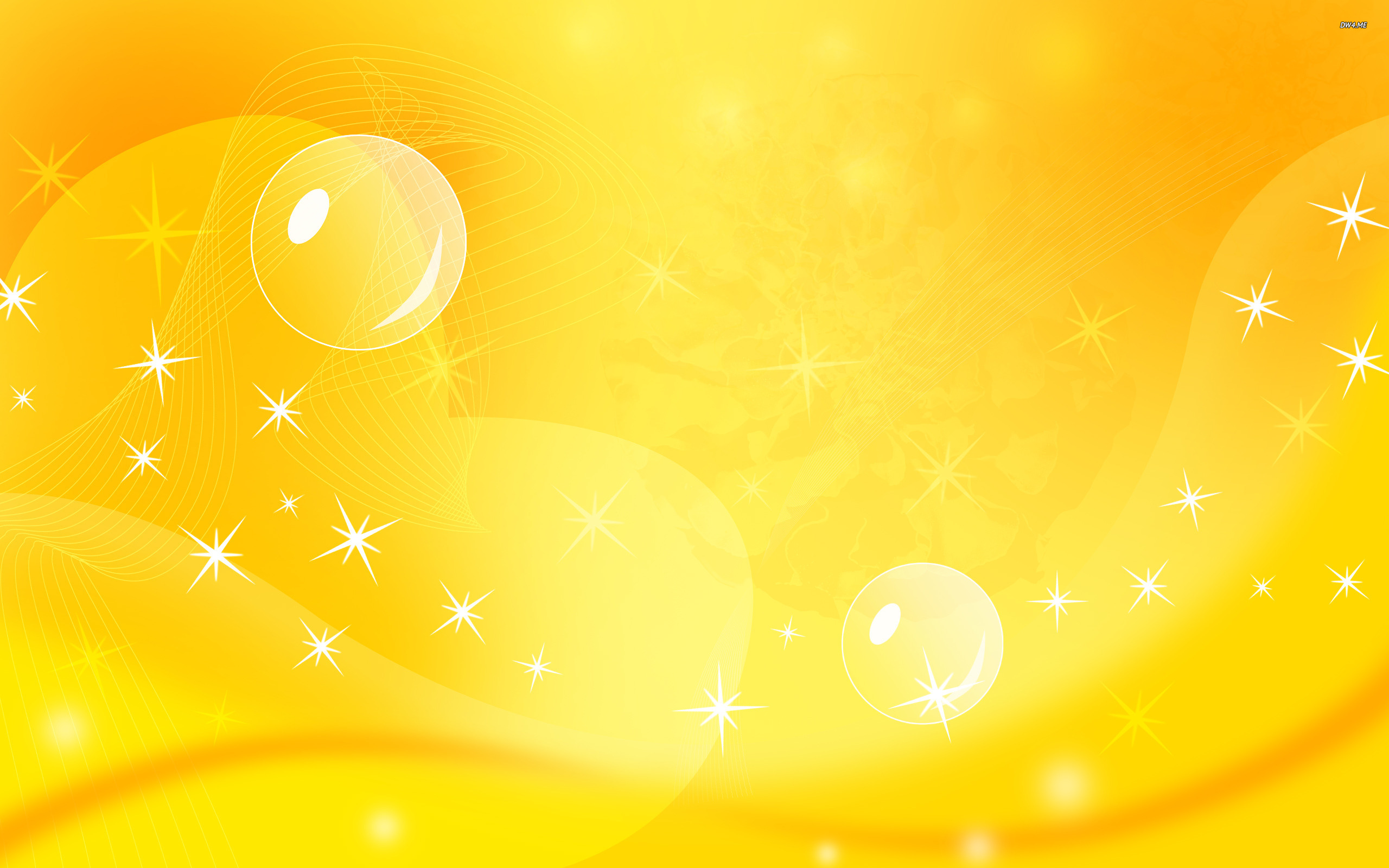 Wallpapers For > Bright Yellow Background Designs