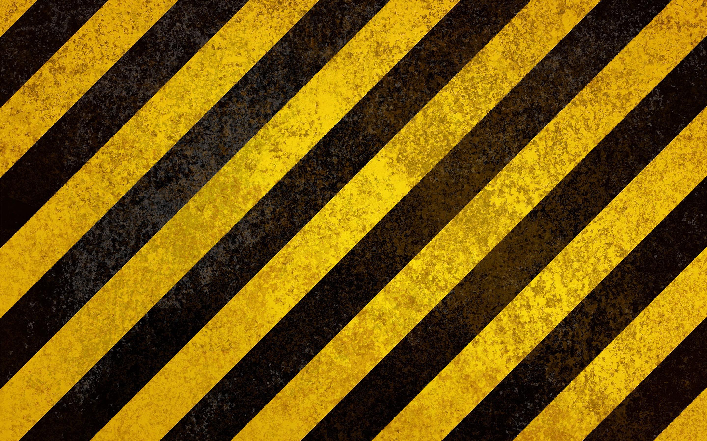 Yellow black strips