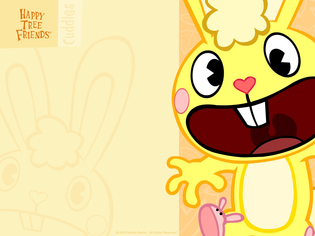 Yellow Cartoon Wallpaper