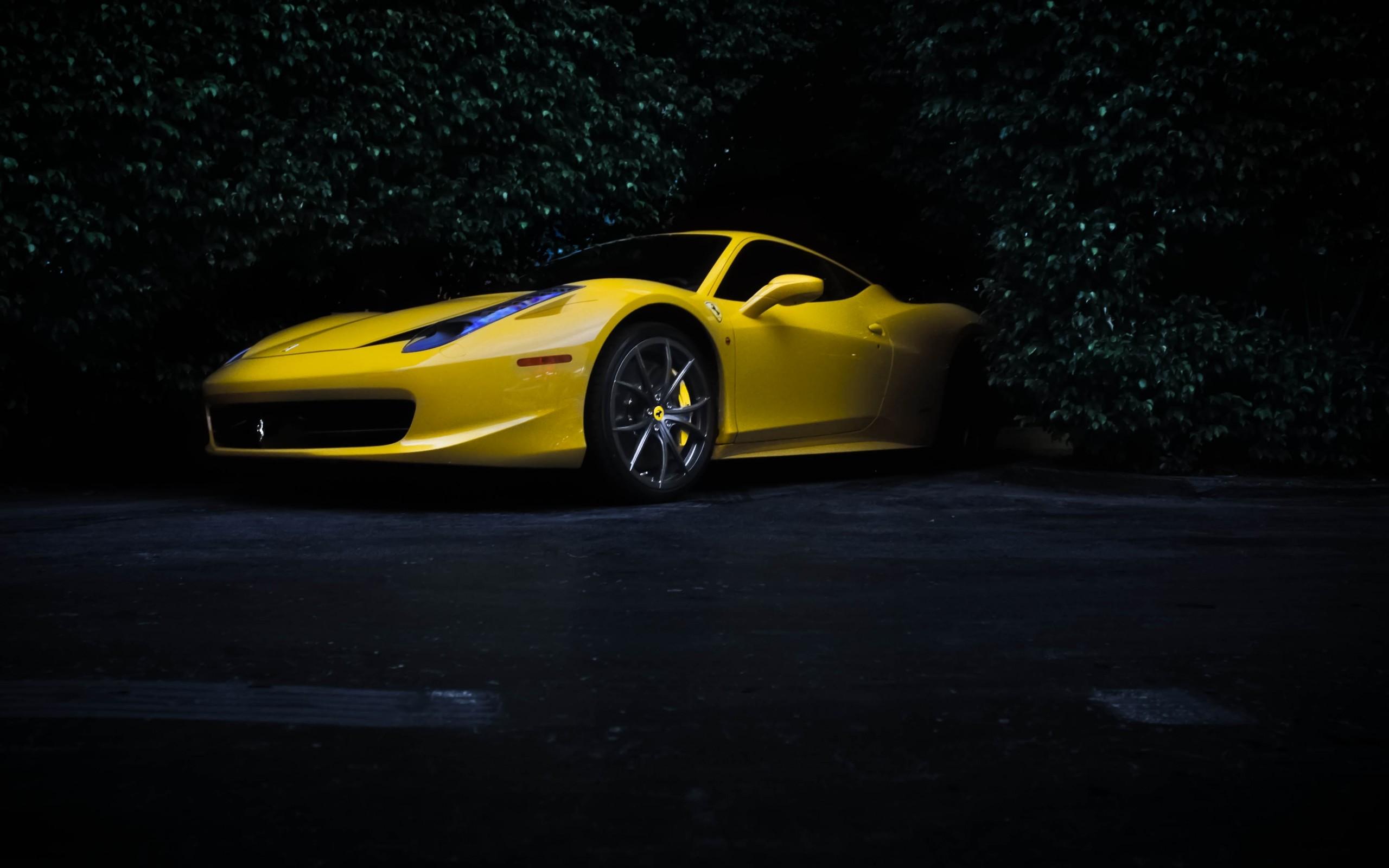 Cool Yellow Ferrari Wallpaper 36212