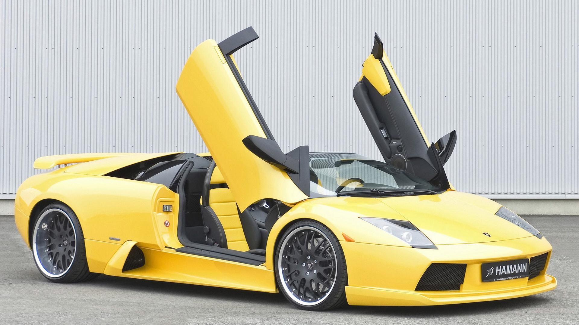 Yellow Lamborghini wallpaper 1920x1080.