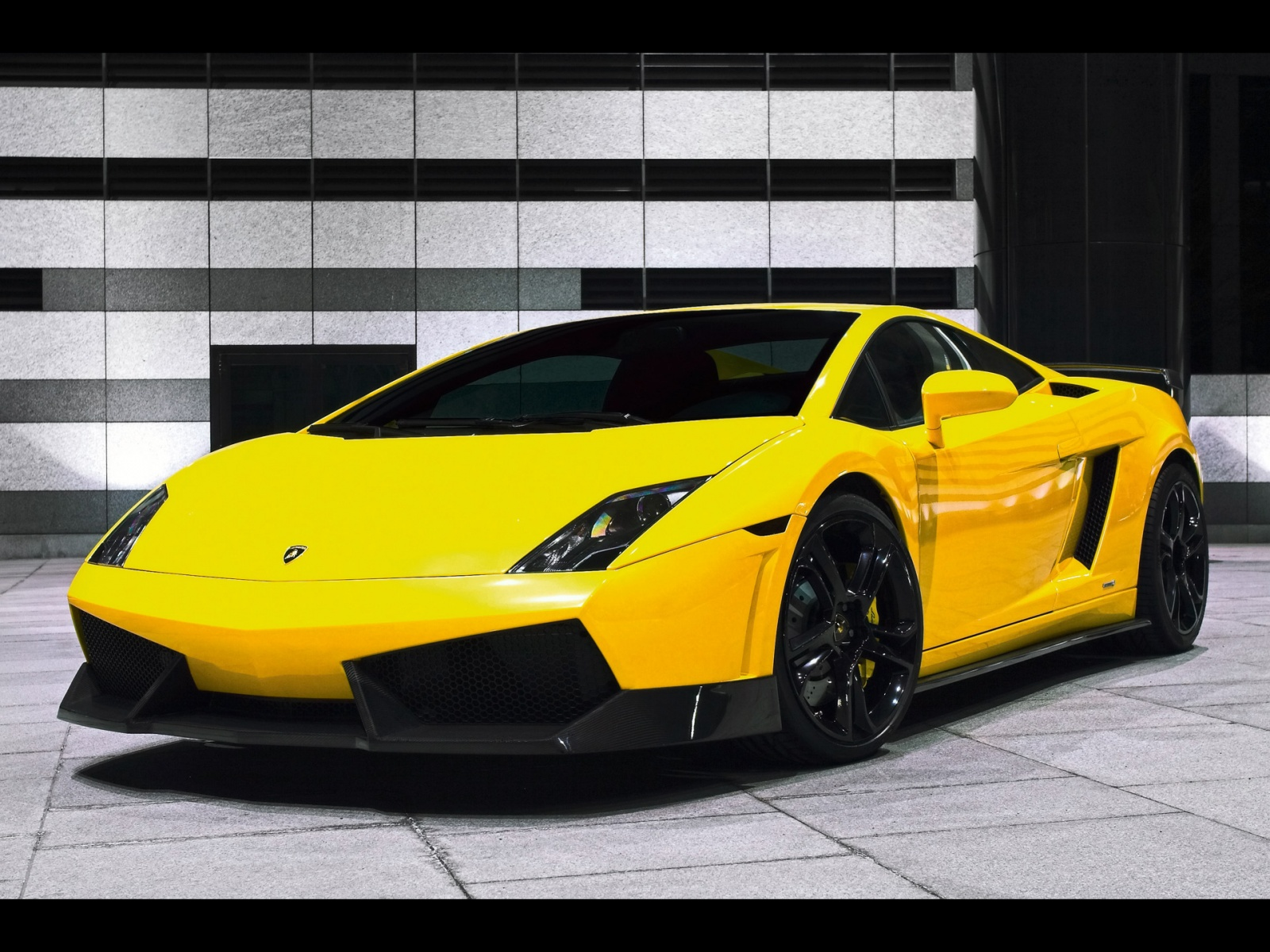 Yellow Lamborghini Wallpaper