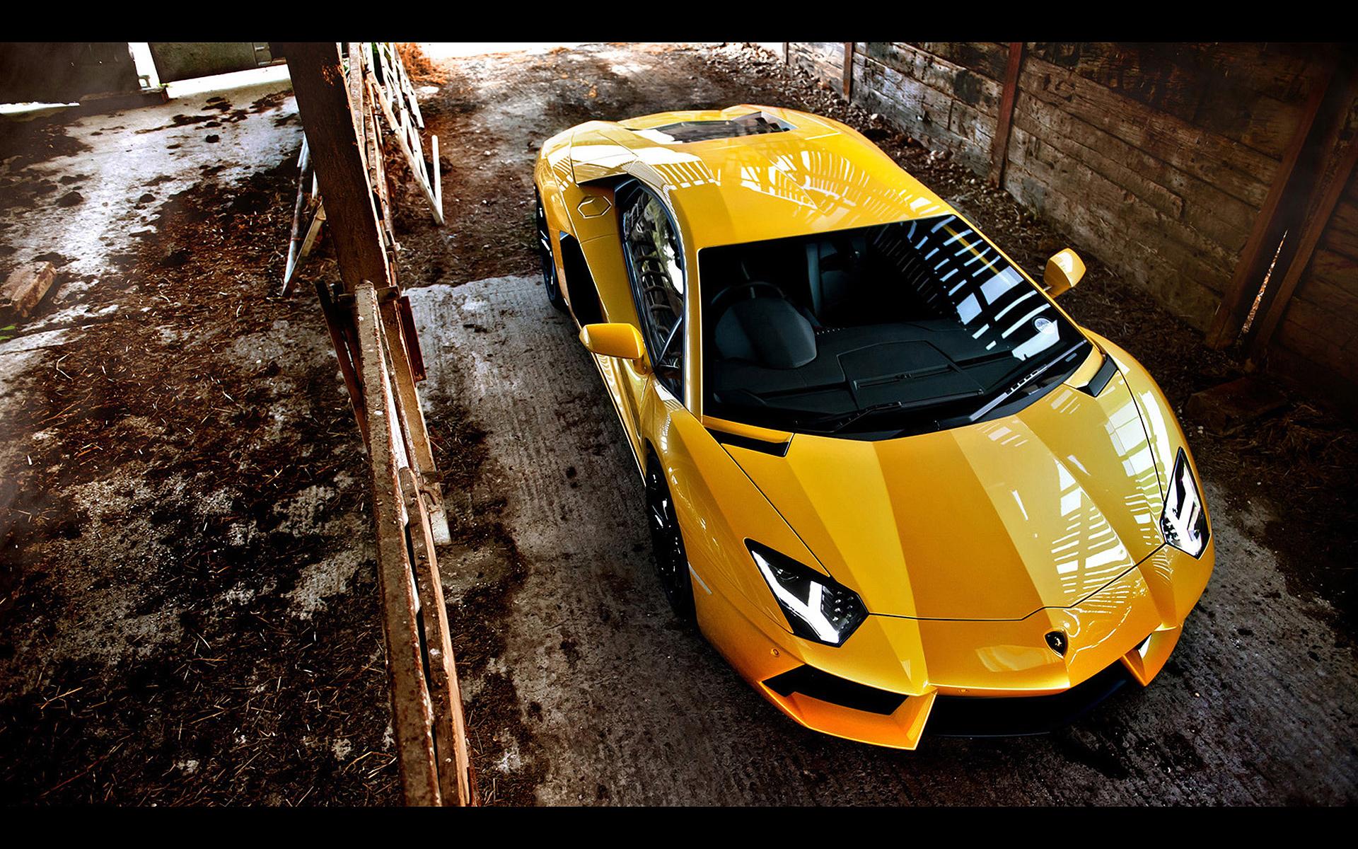 Yellow Lamborghini Wallpapers