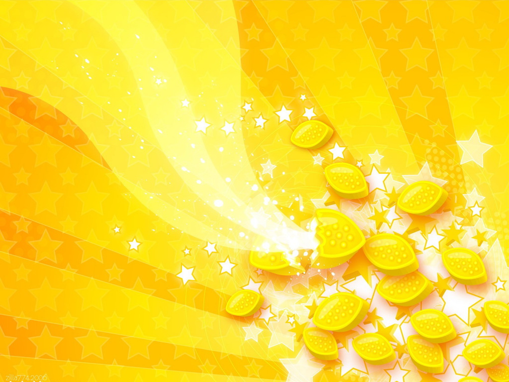 Yellow wallpaper 1024x768 40430