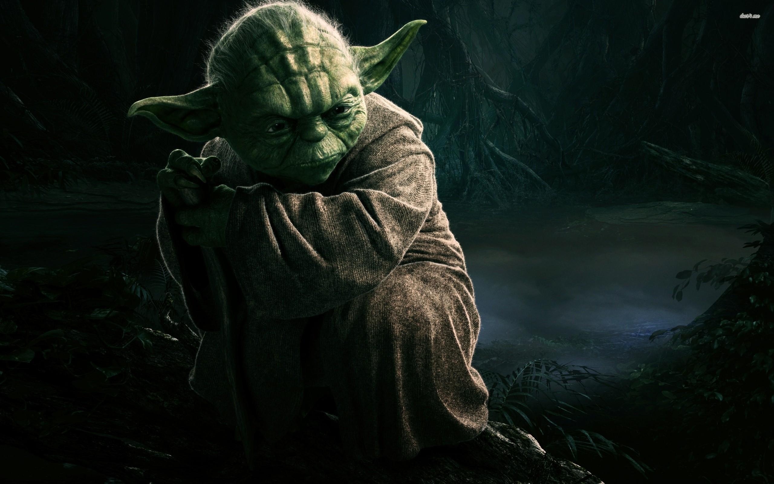 ... Yoda wallpaper 2560x1600 ...
