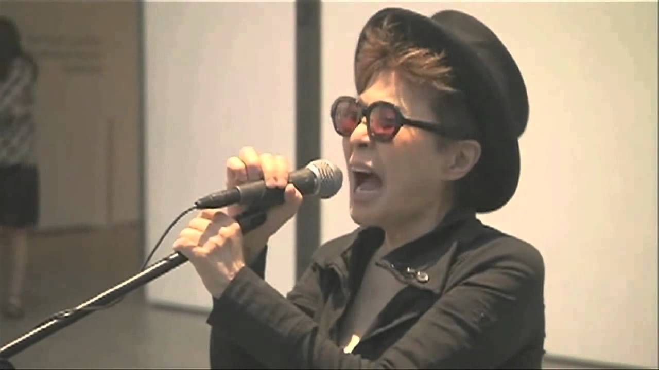 Yoko Ono Screaming [Goat Edition]