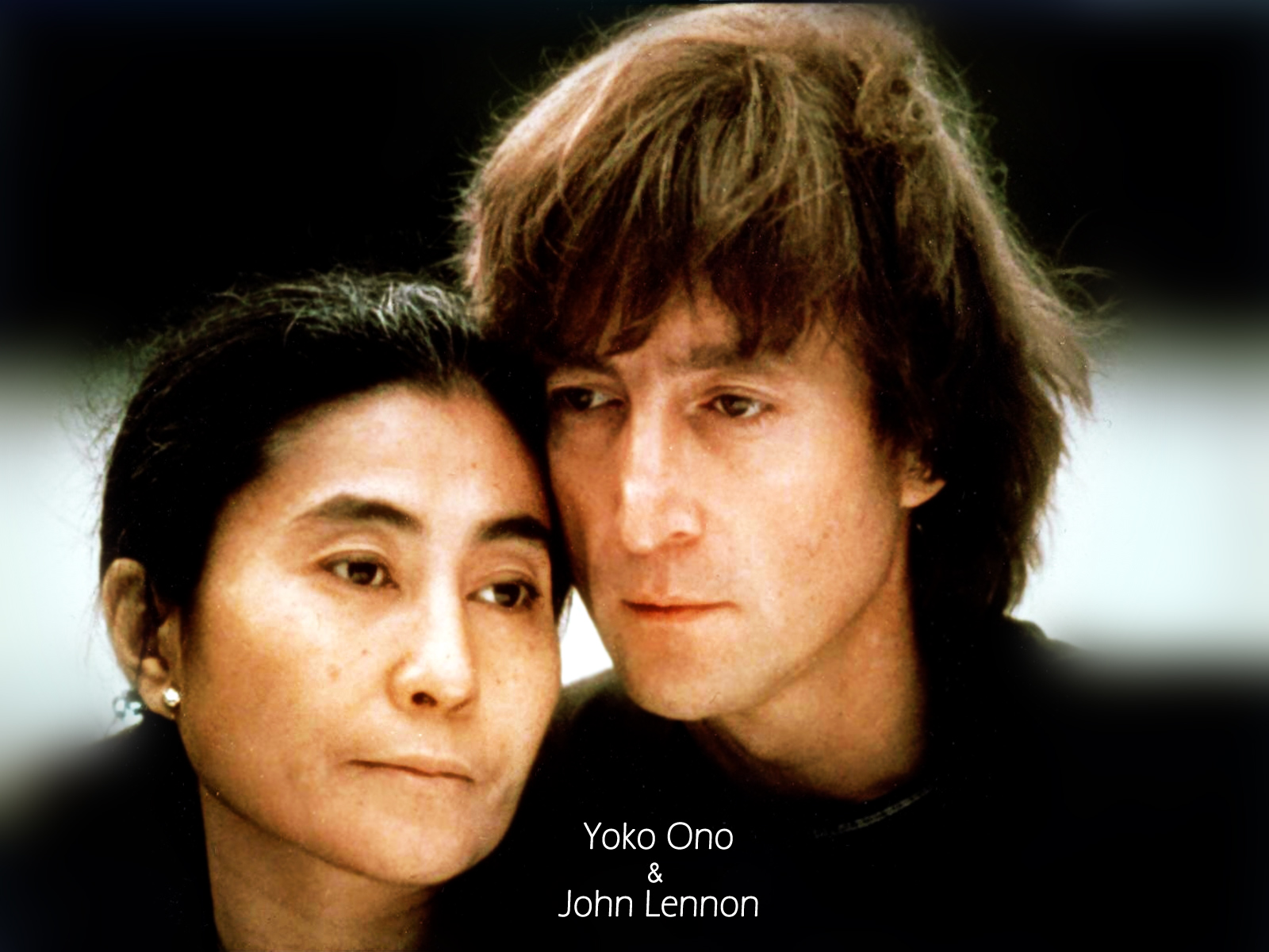 Free Yoko Ono And John Lennon, computer desktop wallpapers, pictures, images