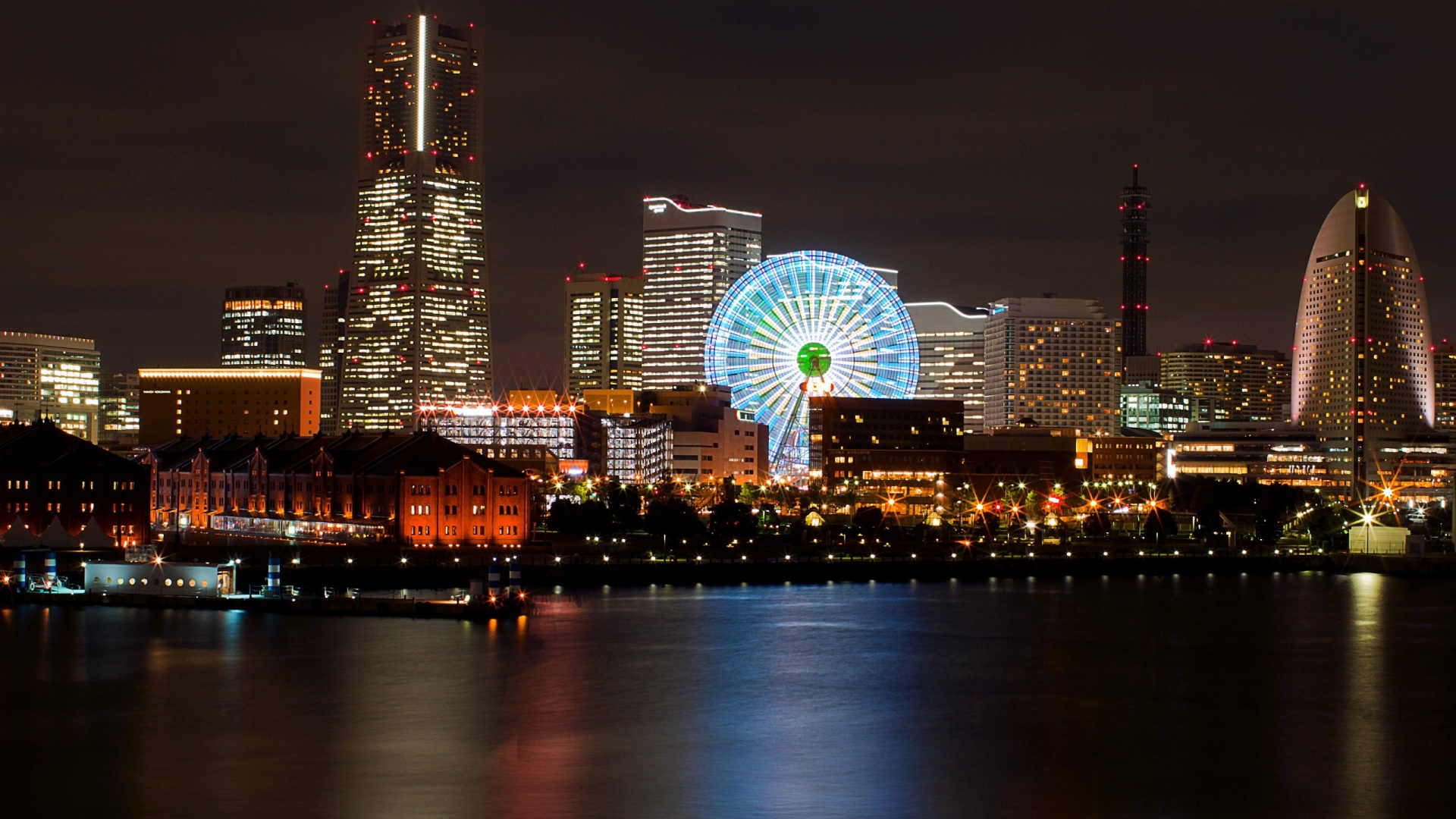 Yokohama city night