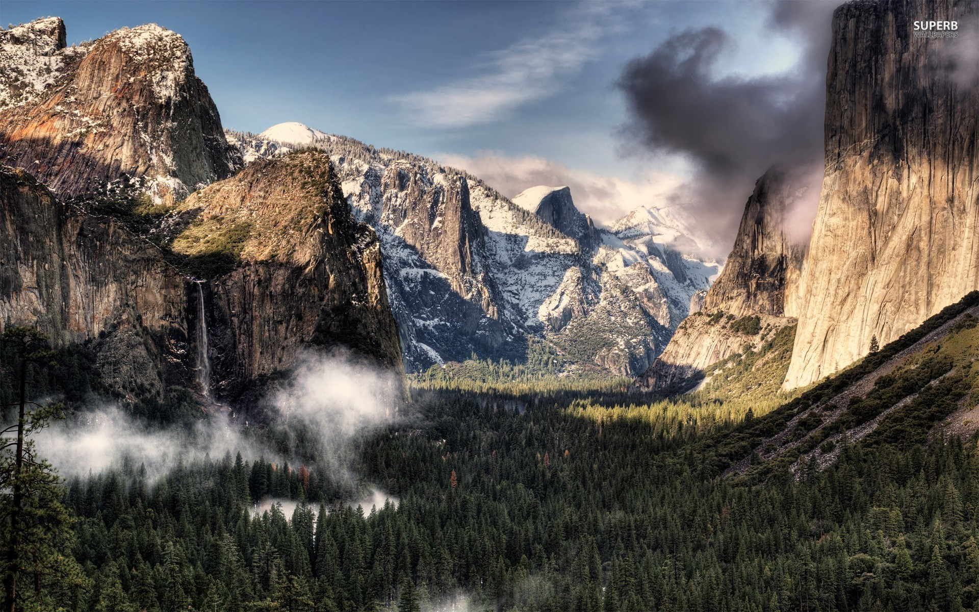 Yosemite Valley wallpaper 1920x1200