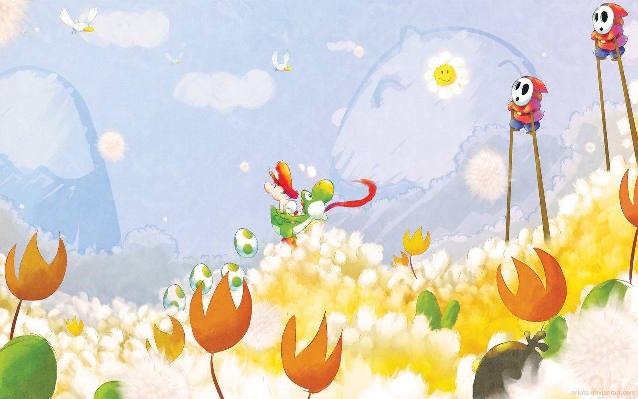 Yoshi Wallpaper