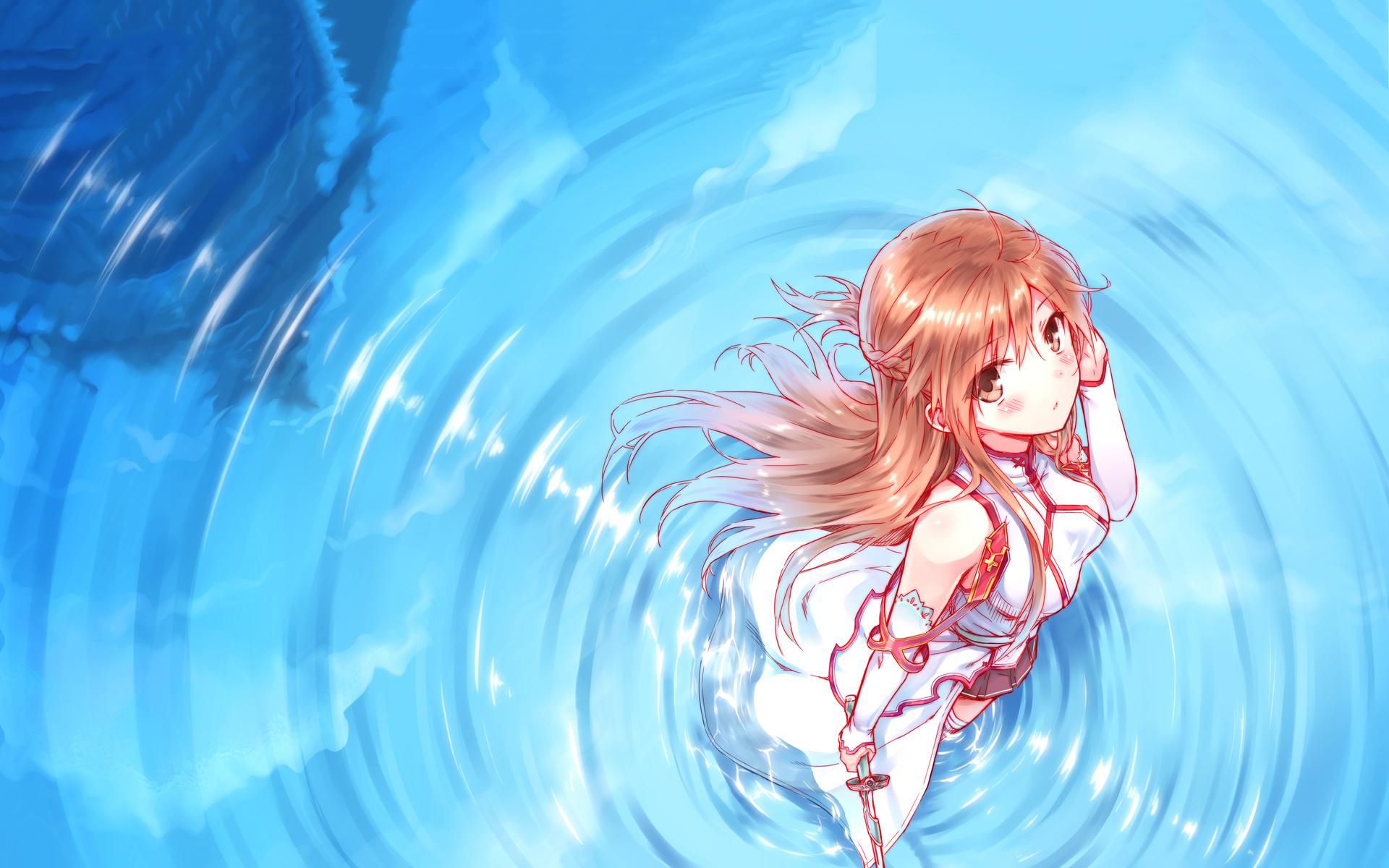Yuuki asuna water