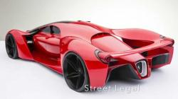 Ferrari F80 Concept - 1200 HP *Caution: Defibrillator Maybe Required*