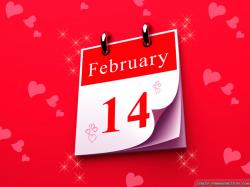 Wallpaper: February 14 When is Valentines Day wallpapers